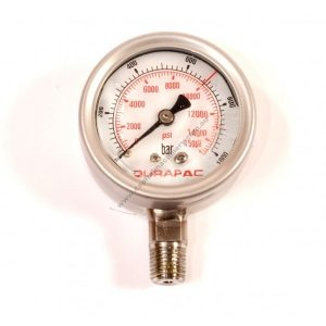 Durapac Pg Series Hydraulic Pressure Gauges