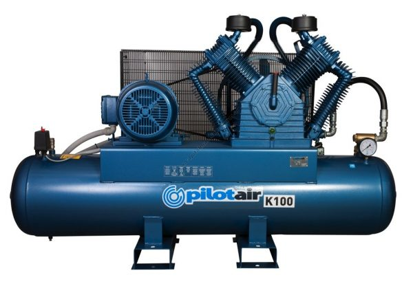 K100 Reciprocating Air Compressor – 415v Three Phase 2