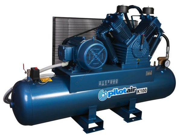 k100 reciprocating air compressor – 415v three phase