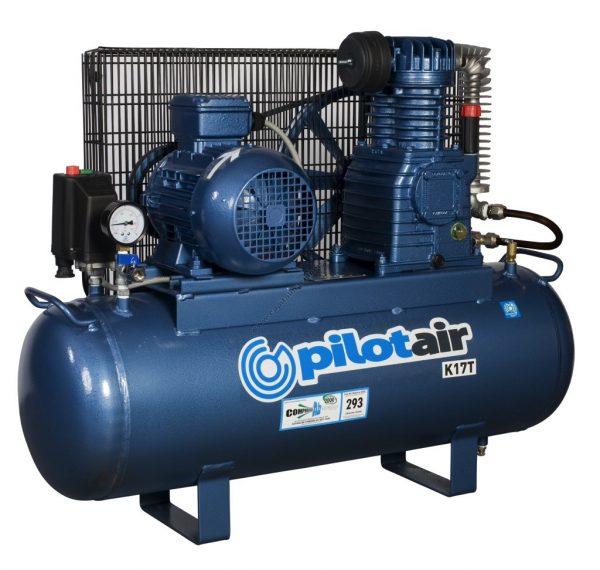 K17t Reciprocating Air Compressor – 415v Three Phase
