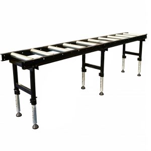 RC-450HD - Roller Conveyor with Adjustable Stands - Heavy Duty