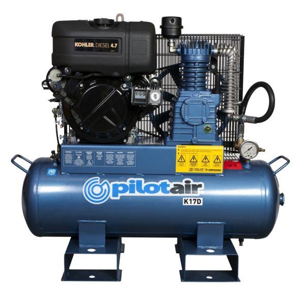 K17d Reciprocating Air Compressor Diesel Driven 2