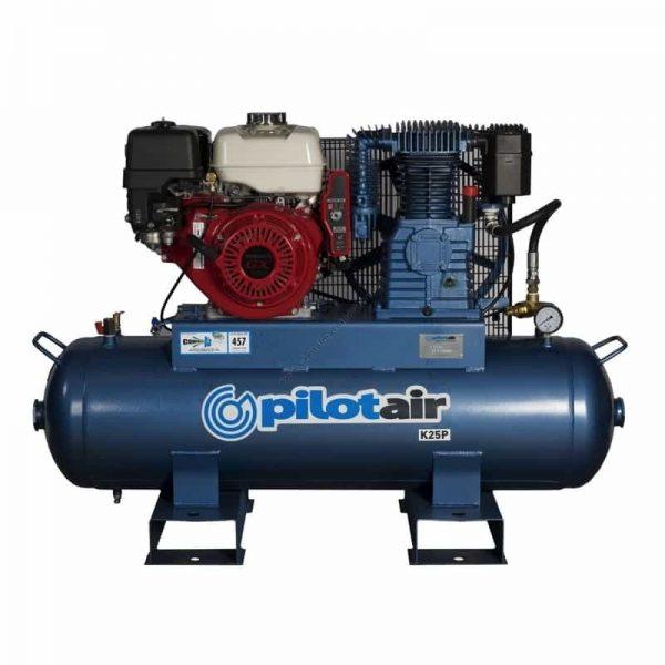 k25p reciprocating air compressor petrol driven