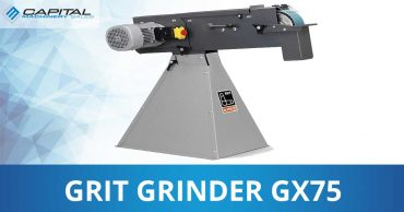 Grit Grinder Gx75 Manual Capital Machinery Sales Blog Thumbnail