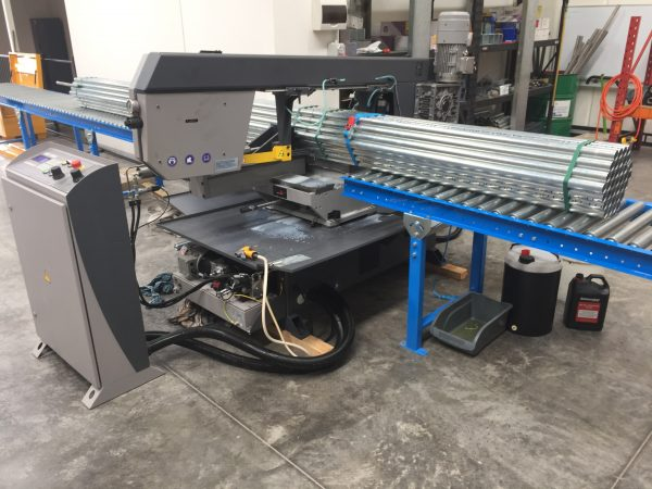 Standard Gravity Roller Conveyor 617mm 3