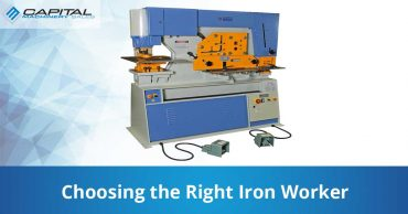 Choosing The Right Iron Worker Capital Machinery Sales Blog Thumbnail