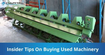 Insider Tips On Buying Used Machinery Capital Machinery Sales Blog Thumbnail