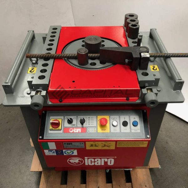 Icaro Cp38 45 Combined Rebar Cutter And Bender 009