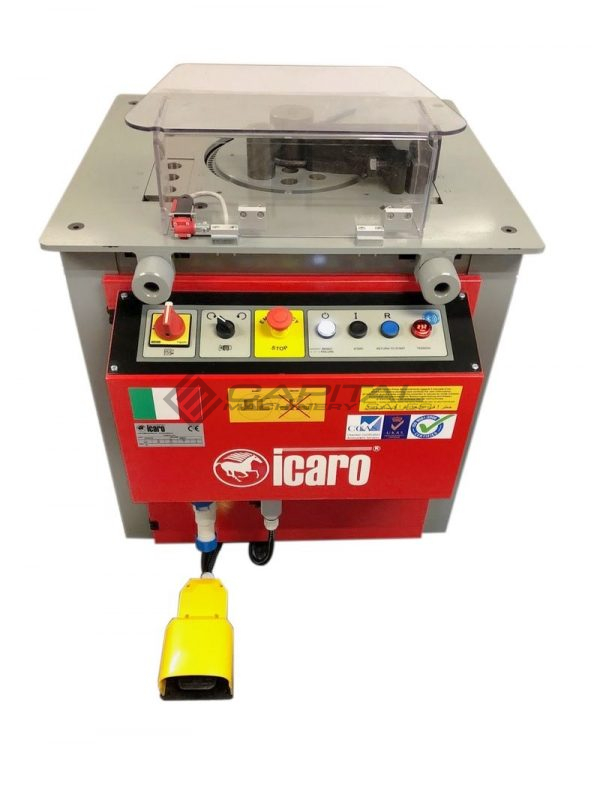 Icaro Cp2632 Combined Rebar Cutter And Bender 7