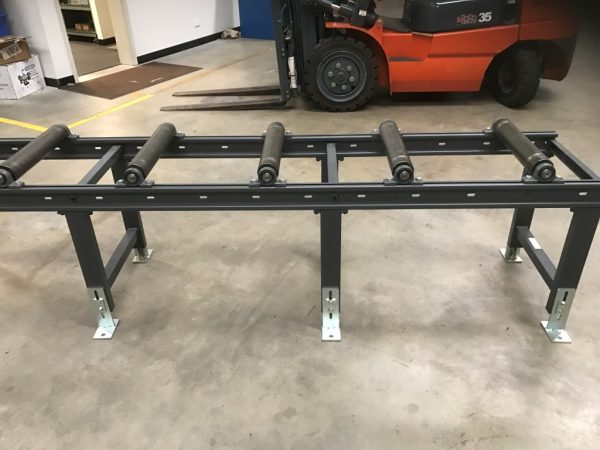 Heavy Duty Conveyor Length 3000 X Width 650 Including Adjustable Legs 3