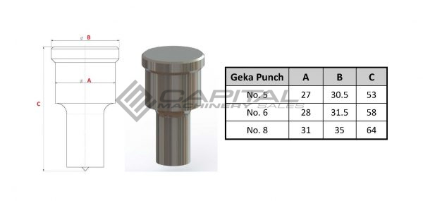 geka punch and die bundle buy 4 get 2 free great british punch and die sale 4
