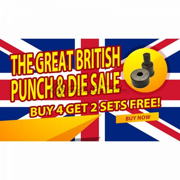 kingsland punch and die bundle buy 4 get 2 free great british punch and die sale