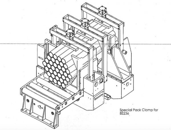 Hex Pack Cutting Bandsaw 6