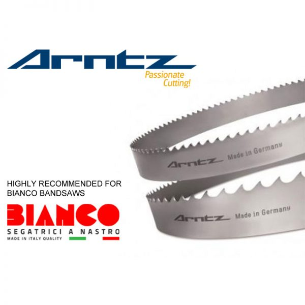 Bandsaw Blade For Bianco Model 370 A60 Length 3120 Mm X Width 27mm X 0.9mm X Tpi