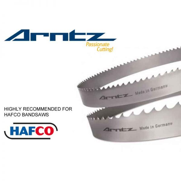 Bandsaw Blade For Hafco Model Bmsy 540 Cgh Length 6000mm X Width 41mm X 1.3mm X Tpi