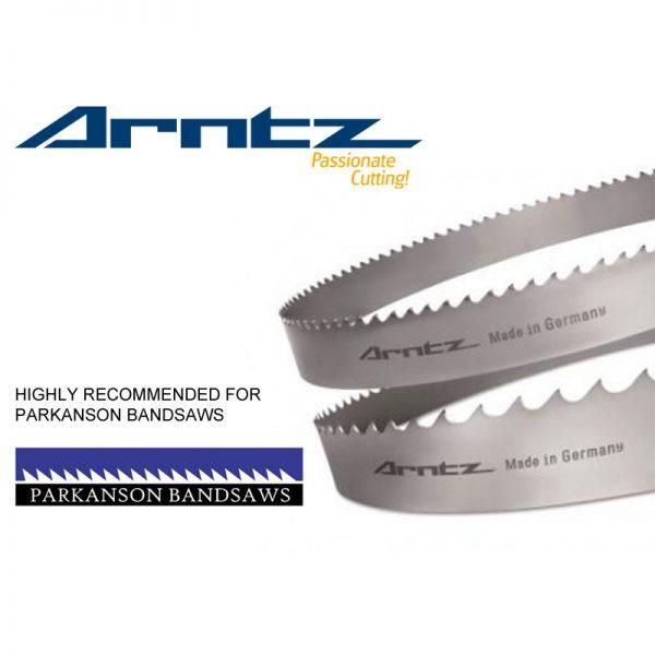 bandsaw blade for parkanson model pk1300dms length 9300mm x width 67mm x 1.6 x tpi