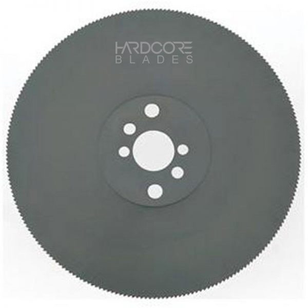 Hardcore Cold Saw Blade 125 X 1.0 X 25 Mm M2 High Speed Steel