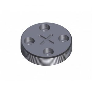Upper Pressure Plate For Punch Retaining Nut 2093