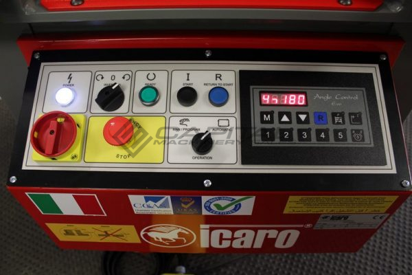 optional icaro rebar bender digital angle controller