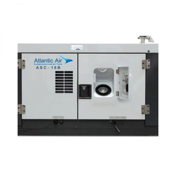 Atlantic Air Asc 16b Diesel Screw Compressor 3