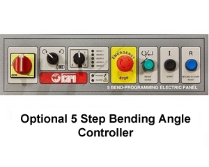OPTIONAL - 5 Preset Bending Angle Controller