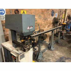 used kingsland manual and cnc linear rail feeders