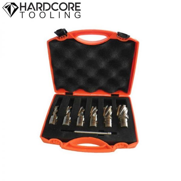 Hardcore 5 Piece Magnetic Drill Cutter Set 30mm