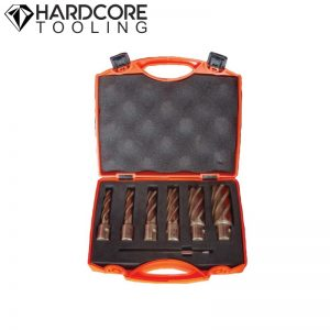 Hardcore 5 Piece Magnetic Drill Cutter Set 50mm
