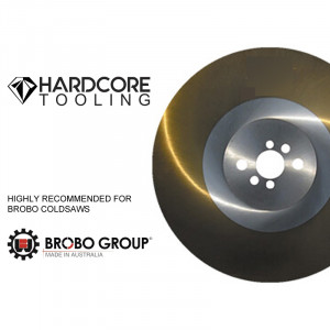 Brobo Cold Saw Ticn Coated Blades For Model Cold Saw S300d 300mm Diameter X 2 5mm Thickness X 40mm Bore