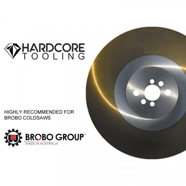 Brobo Cold Saw Ticn Coated Blades For Model Cold Saw S350d 350mm Diameter X 2 5mm Thickness X 40mm Bore