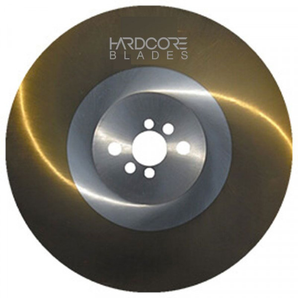 Hardcore Blade 250mm Ticn Coated High Speed Steel 1