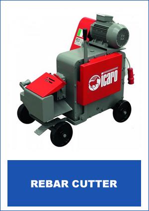 Icaro Machinery Brand Rebar Cutter
