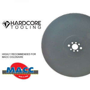 Macc Blades For Model Coldsaw New 250 Dv 1 250 Mm Diameter X 2 5mm Thickness X 32 Mm Bore