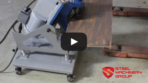 SMG 6D Portable Small Plate Beveling Machine