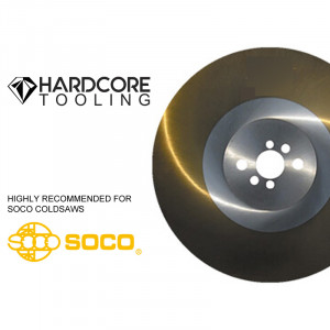 Soco Cold Saw Blade 370 Mm Ticn Coated High Speed Stee For Model Cold Saw Mc 315 F 370 Mm Diameter