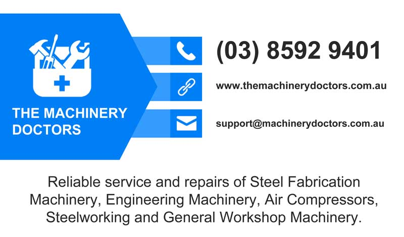 about us service the machinery doctors australia repairs
