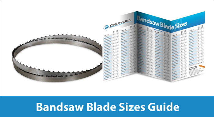Bandsaw Blade Size Guide