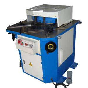 corner notch cutting machine sheet machinery