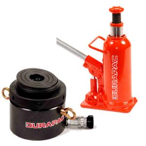 hydraulic tools and lifting lifting jacks cylinders