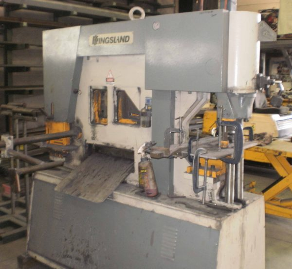 Used Kingsland Multi 95 Iron Worker For Sale In Australia