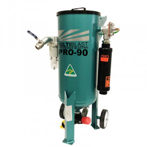 MultiBlast AMB90-F - 40 Litre - Pressure Pot Sandblaster Equipment Full Package