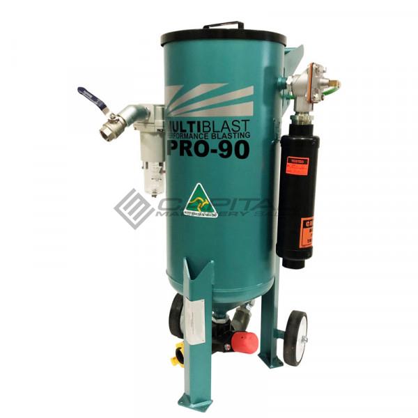 MultiBlast AMB90-F - 40 Litre - Pressure Pot Sandblaster Equipment Full Package