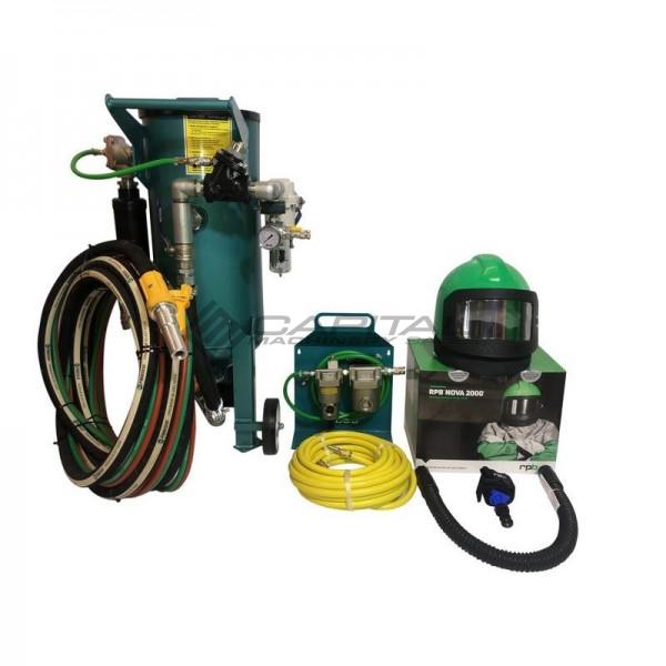 Multiblast Amb180 F 80 Litre Blast Pot Machine Full Package