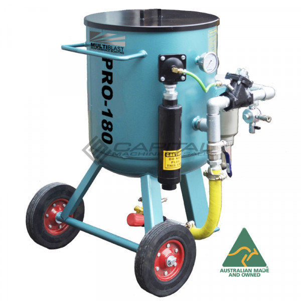 Multiblast Pro180 80 Litre Sandblasting Pot Machine