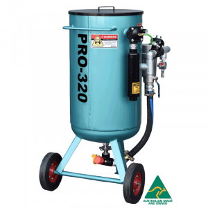 Multiblast Pro320 140 Litre Sandblasting Pot Machine