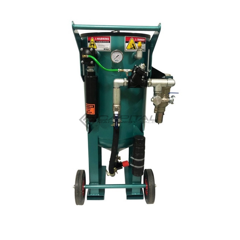 Multiblast Pro400 174 Litre Blasting Pot Equipment Basic Package 003