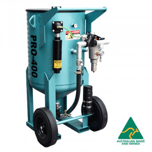 Multiblast Pro400 174 Litre Sandblasting Pot Machine