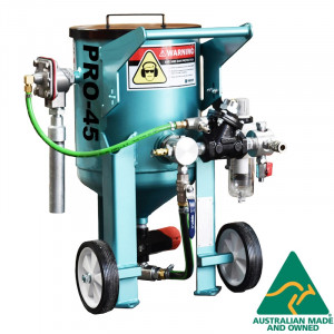 Multiblast Pro45 20 Litre Sandblasting Pot Machine