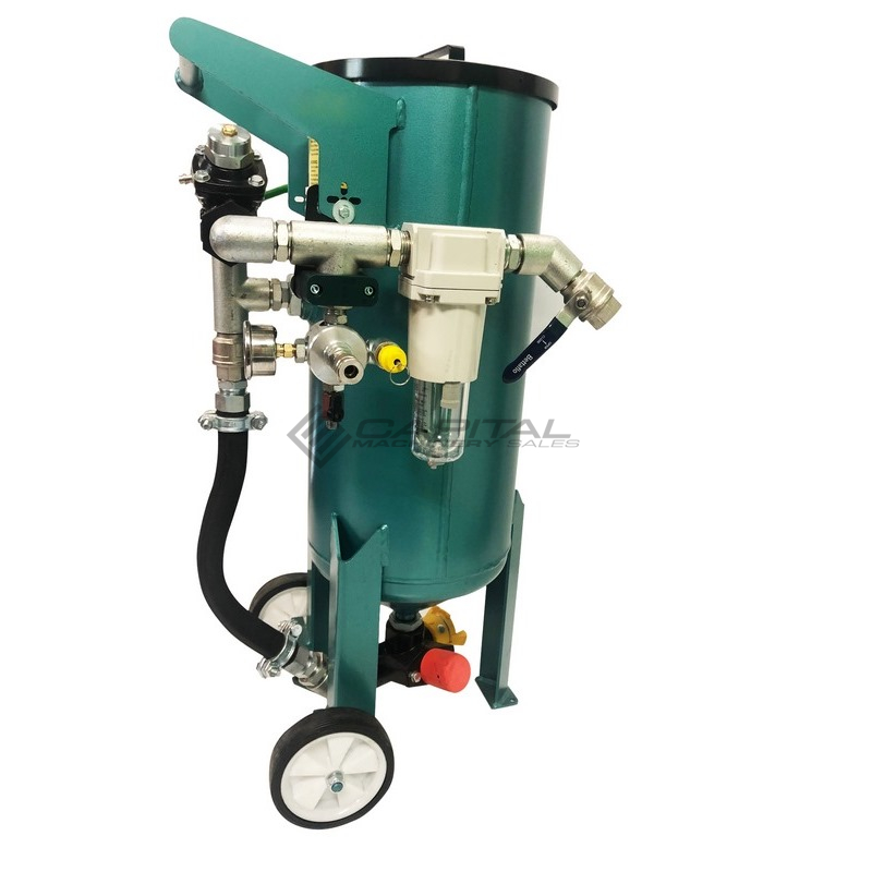 Multiblast Pro45 20 Litre Sandblasting Pot Machine Full Package 003