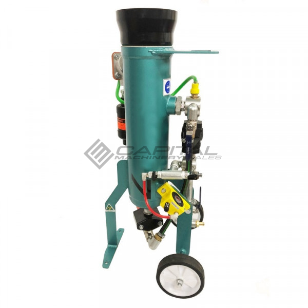 Multiblast Pro16 7 Litre Sandblasting Pot Machine Full Package With Soda Blasting Kit 005